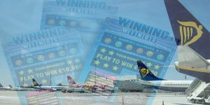 airline scratch card